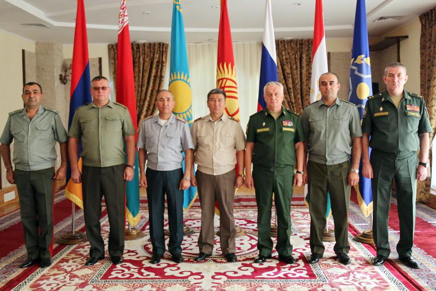 A working meeting was held between the heads of the main operational departments of the general staffs of the armed forces of the CSTO member states in Kyrgyzstan