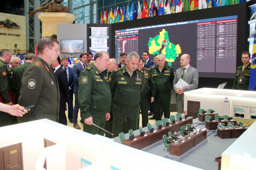 "The delegation of the CSTO Joint Staff took part in the V Interdepartmental Scientific-Practical Conference ""System of interdepartmental information interaction in solving problems in the field of defense of the Russian Federation"""