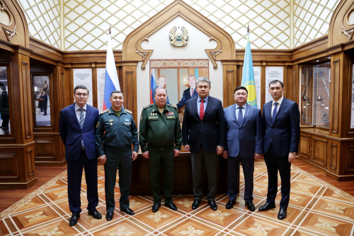 A working meeting was held between the Head of the CSTO Joint Staff and the Extraordinary and Plenipotentiary Ambassador of the Republic of Kazakhstan to Russia