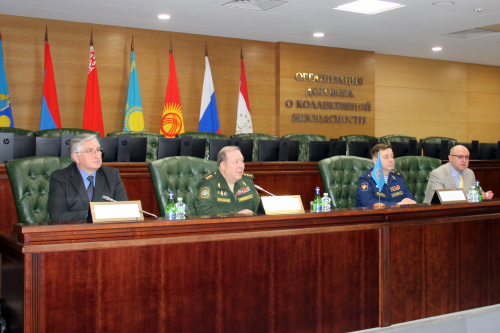 Representatives of the defense departments of the CSTO member states have discussed the prevention and control of coronavirus infection COVID-19