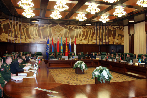 Consultations on the development of military cooperation between the Organization's member states were held at the CSTO Joint Staff