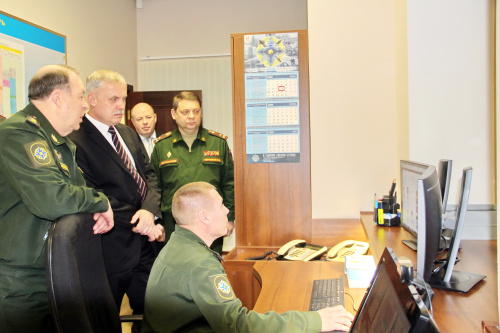 The CSTO Secretary General Stanislav Zas visited the CSTO Joint Staff
