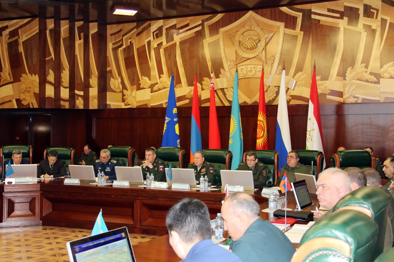 The CSTO Joint Staff turned 16 years old