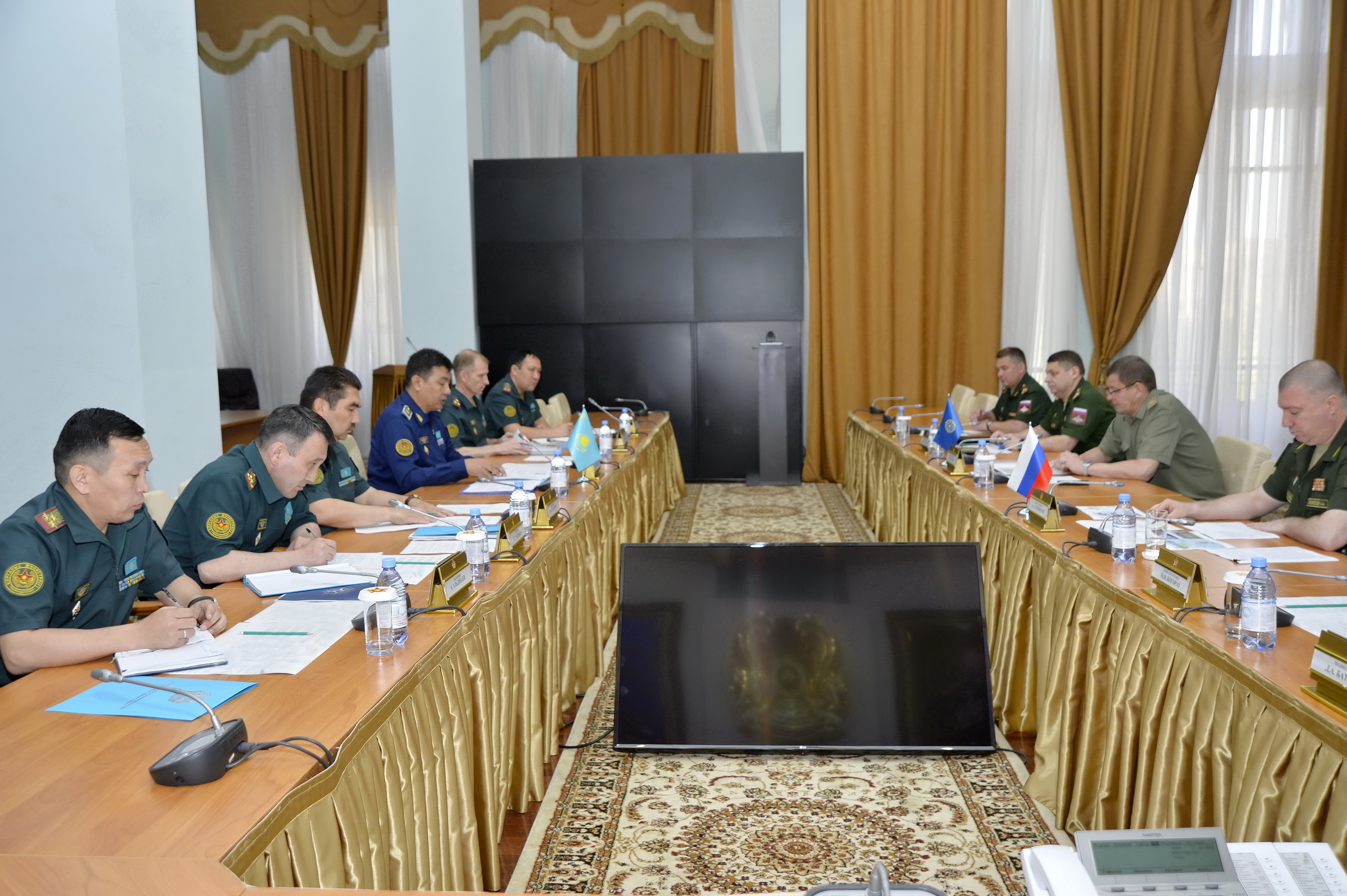 Working visit to the Republic of Kazakhstan, aimed to improve the CSTO crisis response system