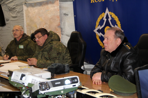 The Сommand of the CSTO CRRF in course of the command and staff training worked out the issues of organizing a joint operation