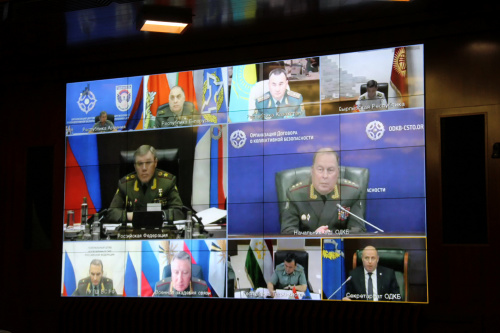 The CSTO Military Committee discussed issues of the development of military cooperation of the Collective Security Treaty Organization member states via video-conferencing