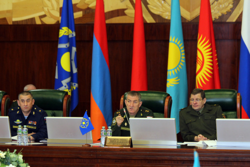 Representatives of the defense departments of the CSTO member states discussed the Plan for joint training of management bodies and formations of forces and means of the collective security system for 2021