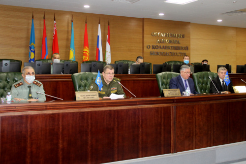 At the CSTO Joint Staff, consultations on the Plan for joint training of command and control bodies and formations of the assets of the collective security system for 2022 were held via videoconferencing