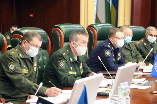 At the CSTO Joint Staff, the staff negotiations on the preparation of joint trainings with the Collective Forces in 2021 were held