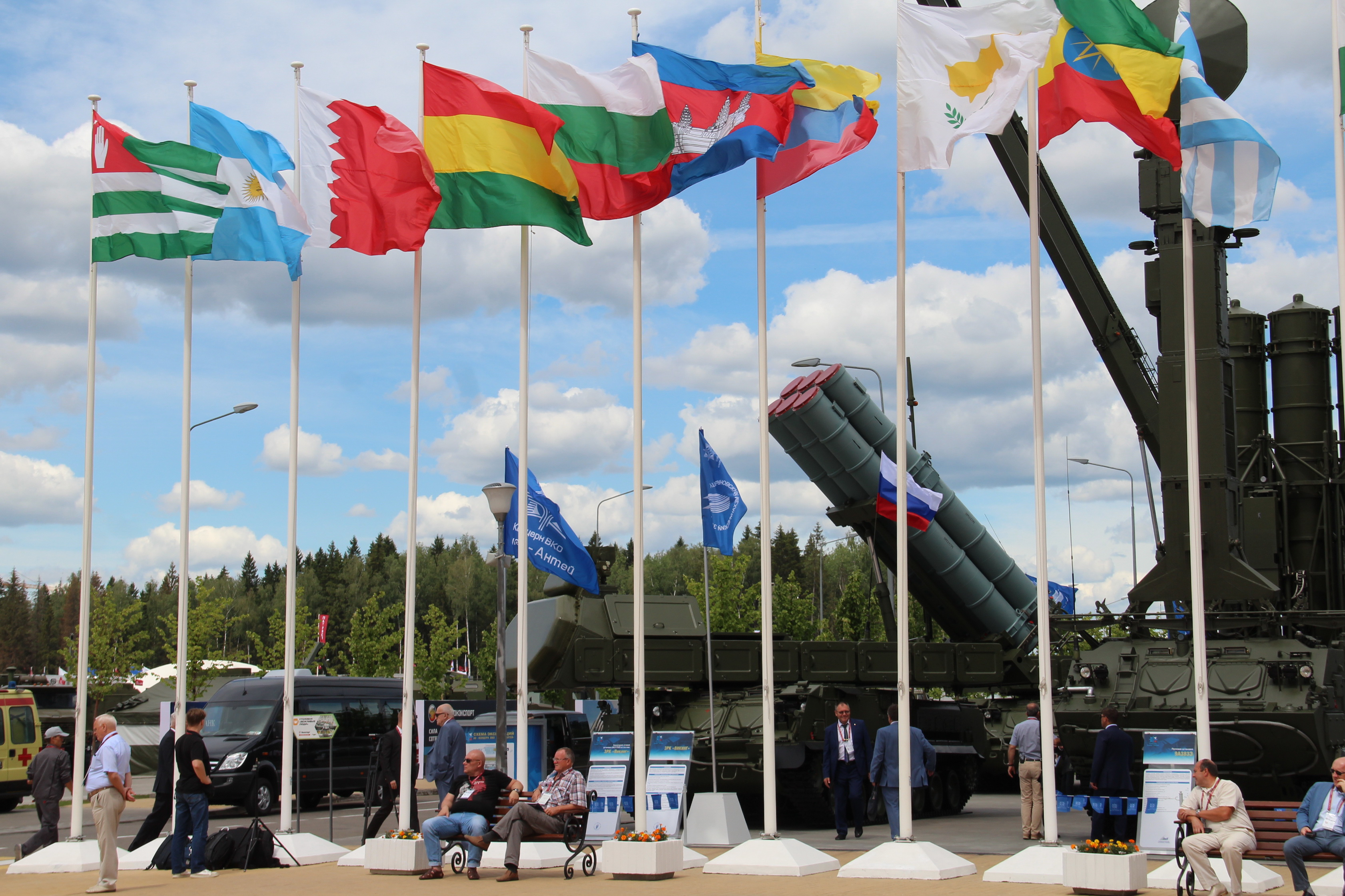 "The Chief of the CSTO Joint Staff took part in the opening of the International Military-Technical Forum ""ARMY-2019"""